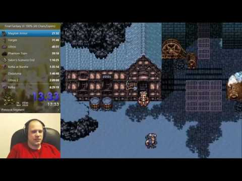 Final Fantasy VI Speedrun (Glitchless 100%) - 6:27:42