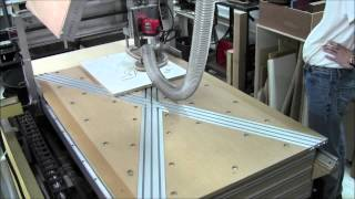 Diy Cnc Router Novice - First Sign - Test Run