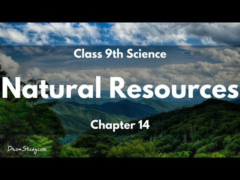 Natural Resources : CBSE Class 9 XI Science Video Lectures in English