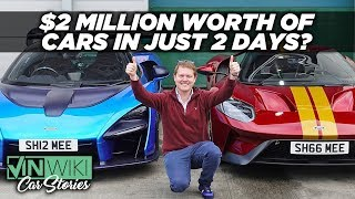 How did Shmee's 2 dream cars arrive just 12 hours apart?