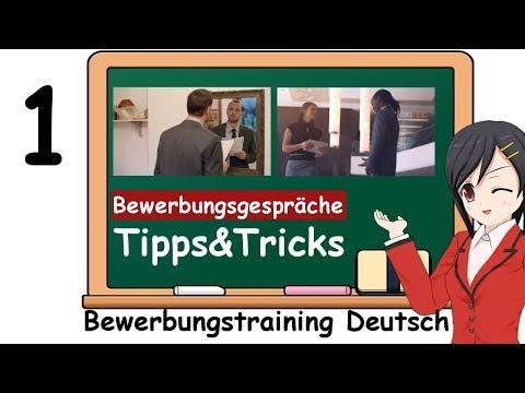 Sich bewerben auf Deutsch: Tipps zu den Fragen im Bewerbungsgespräch & Vorstellungsgespräch