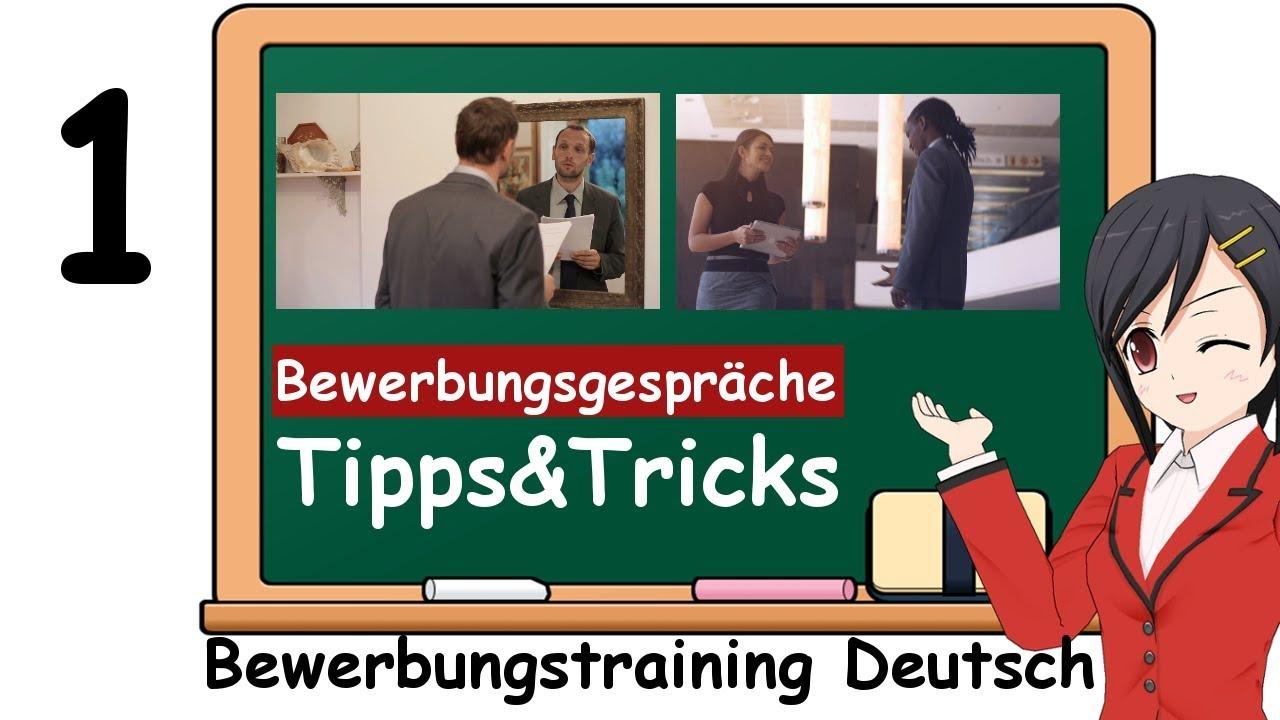 Sich Bewerben Auf Deutsch Tipps Zu Den Fragen Im Bewerbungsgespräch
