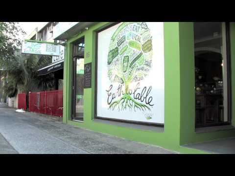 Earth to Table Living Food Raw Cafe - Total Vitality TV