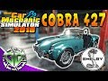 Car Mechanic Simulator 2018 : Shelby Cobra 427 Restoration aka DC Typhoon! (PC)