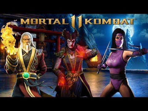 Mortal Kombat 11 - Shinnok, Mileena, & Shang Tsung Confirmed! thumbnail