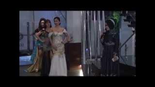Fashion show Gaun Malam MARLINE WORLD by Marline Henriksen bagian pertama
