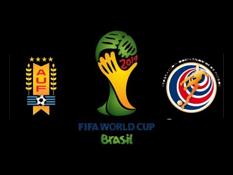 Uruguay Vs Costa Rica World Cup - Highlights and Goals 2014