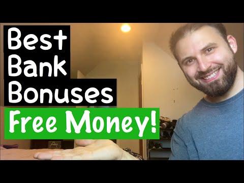 Best Bank Account Bonuses 2020 || FREE MONEY!!