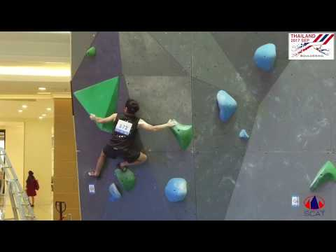 TSCL2017 Bouldering Open male Qualification