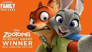 ZOOTOPIA Trailer + Clip Compilation - Winner Best Animated Feauture Film Oscars 2017