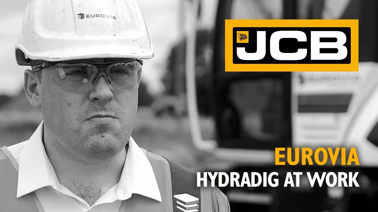JCB HYDRADIG at work - Eurovia Testimonial