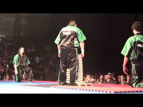 New brick breaking record for Marc-Anthony Monpetit at Quebec Open 2011