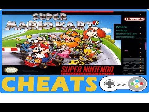 Super Mario Kart (SNES) Cheats + Action Replay | Game Genie Codes