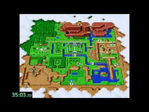 Zelda: Link to the Past Randomizer Highlight Reel 7-25