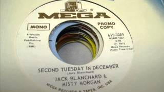 "Jack Blanchard & Misty Morgan ""Second Tuesday In December"""