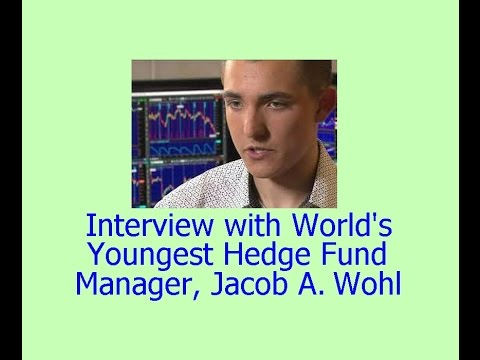 Interview w/ Jacob Wohl, youngest hedge fund manager & investing expert! // Stock market tips basics