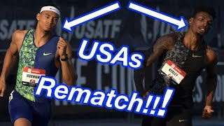 Michael Norman Avenges USAs Defeat To Fred Kerley!!