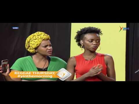 REGGEA PRESENTER MBUSSI LIVE ON Y254 TV