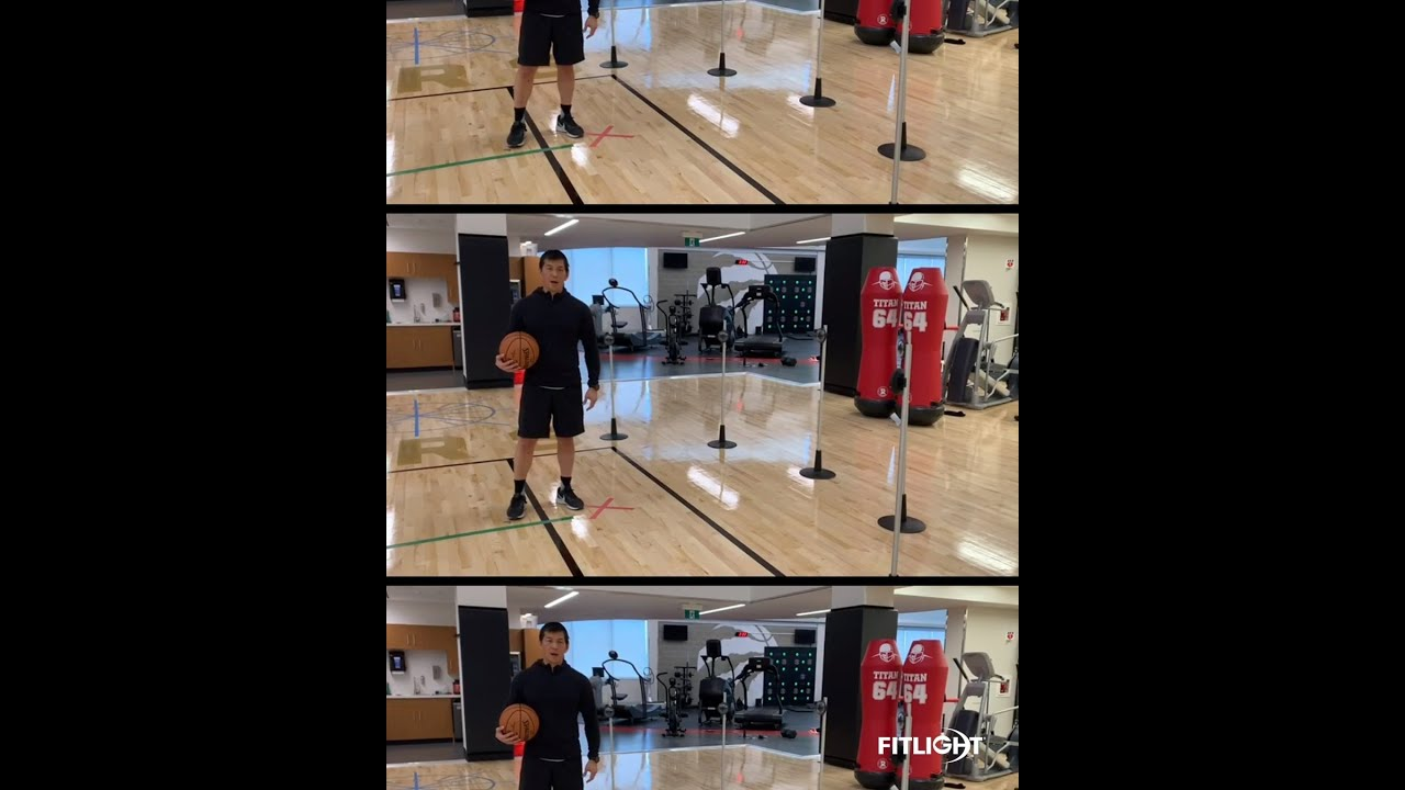 FITLIGHT®: Face-off Reaction Drill ft. Strength and Conditioning Coach Jon Lee