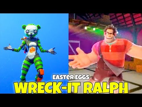 Wreck It Ralph Dancing HOT MARAT EMOTE & Traveling (Easter E