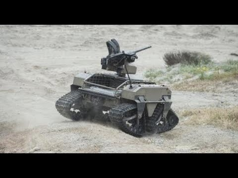 Military Weapon Information -  This Machine Gun Robot Will Probably Lead The Uprising One Day