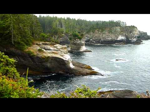 The most NW point of the State of Washington: Cape Flattery