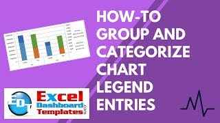 How-to Group and Categorize Excel Chart Legend Entries