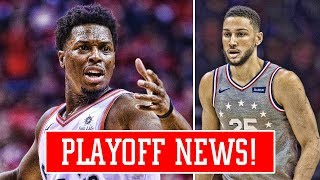 BEN SIMMONS CALLS OUT SIXERS FANS AFTER LOSS! KYLE LOWRY WORST PLAYOFF PERFORMANCE OF ALL TIME!