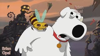Family Guy   - Brian was stung by a bee