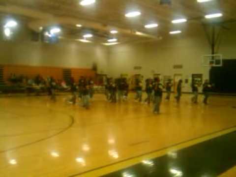 Saluda Trail Middle School step team