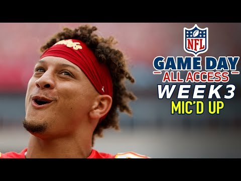 "NFL Sunday Week 3 Mic'd Up, ""Oh spicy nuggets are back?"" 