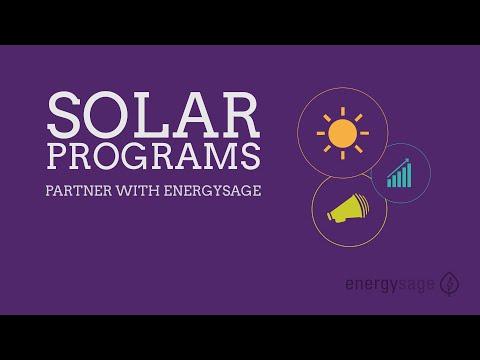 Solar Programs: Partner with EnergySage