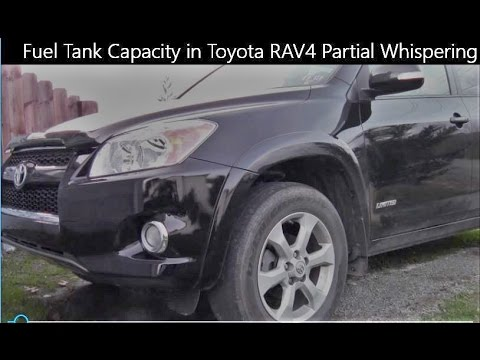 Fuel Tank Capacity In Toyota Rav4 Partial Whispering