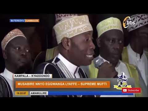Supreme Mufti asabye abayisira...