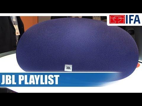 JBL Playlist Streaming-Lautsprecher #IFA2017