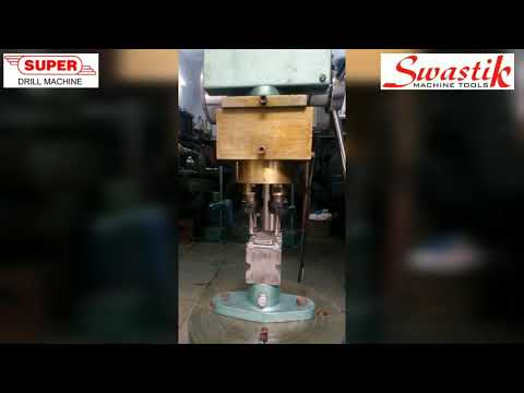 Multi Spindle Tapping Machine For (BRASS, M.S., S.S.)
