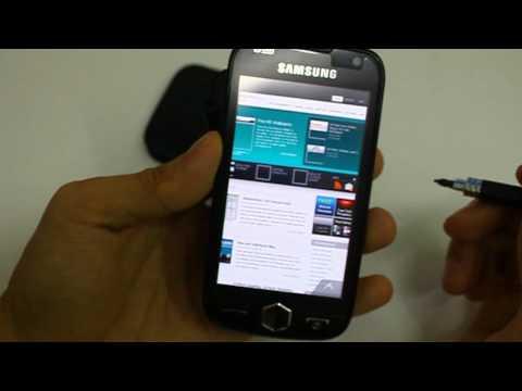 Samsung Omnia II Web Browsing and Camera