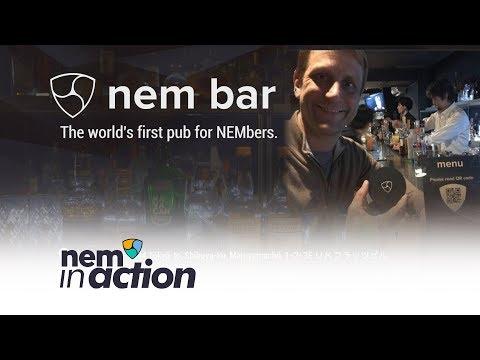 NEM in Action: NEM Bar The world's first pub for NEMbers. | 世界初のNEMberのための隠れ家