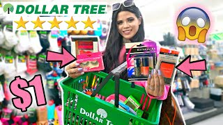 BEST RATED DOLLAR TREE NO BUDGET SHOPPING SPREE *I WAS SHOCKED*