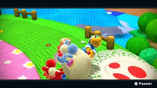 Let's Play Yoshi's Woolly World [Coop] Partie 1 : Fichu Kamek !