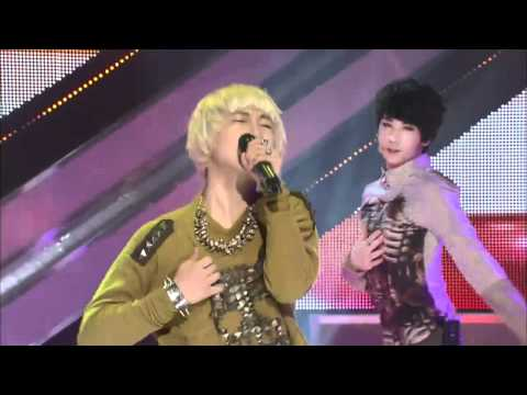 111104 AA(Double A)-Because I'm Crazy @MTV The Show