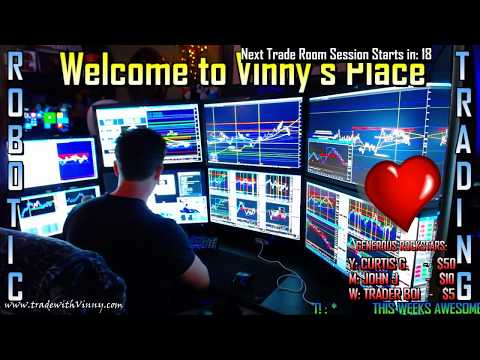 ✔ EMINI FUTURES TRADING & ALGORITHMIC TRADING | FUTURES | FOREX | TRADE ROOM | DAILY 8:45a - 4p EST