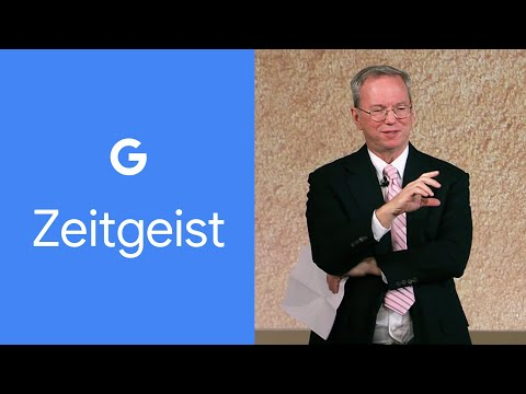 Eric Schmidt - The Future Of The Way We Live, Love And Work