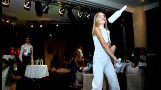 LADY'S barmen-show.ru. Видео бармен-шоу (девушки бармены). Женское бармен-шоу.