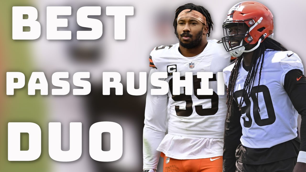 Best Pass Rushing Duos in the NFL Right now