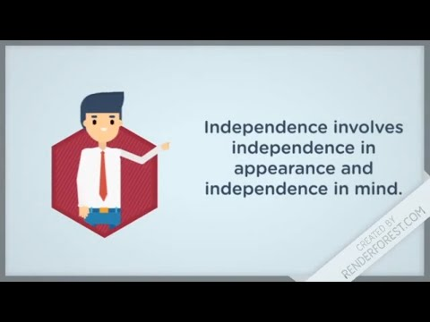 Independence Of Auditor