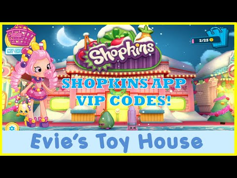 Welcome to Shopville Shopkins App Game - Entering 3 Shoppies
