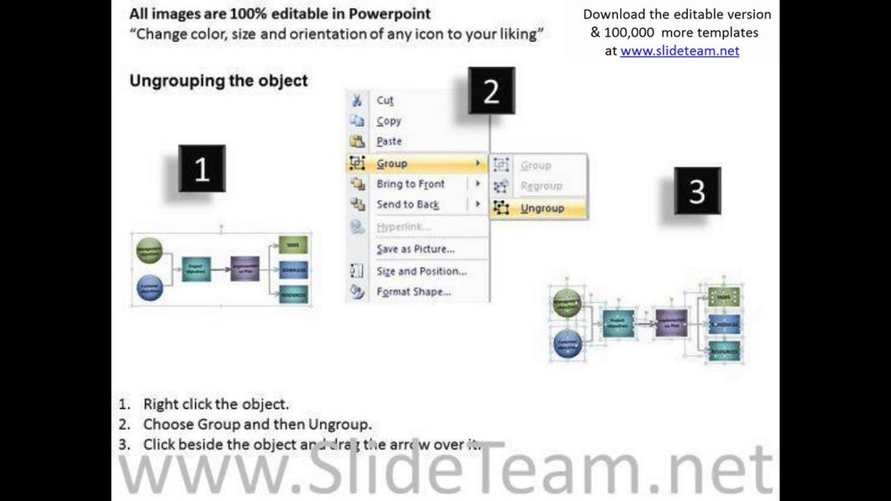 2 3 Sub Stages Process Flowchart Diagram Powerpoint Templates Ppt Flow Template Slides