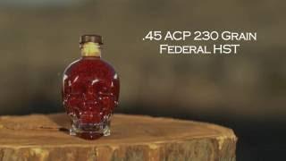 45 acp vs crystal skull