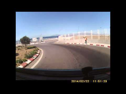 Tanger \ Tangier Med Ferry Port - exiting Morocco 2014